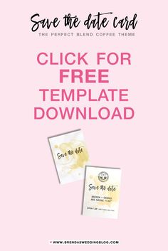 Three Free Microsoft Word Save The Date Templates Perfect For - Save the date templates free download