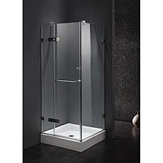 small corner shower enclosures. MAAX Reveal 32 in  x 60 74 5 Corner Shower Stall White Grey shower stalls and Ps