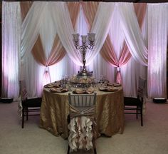 Pelazzio Full Service Wedding Venue creates beautiful custom backdrops for your ceremony, reception, or both! #Houston #Wedding #Backdrop #Venue #Reception #Ceremony  #Decor www.pelazzio.com