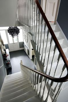 Love the stair bannister