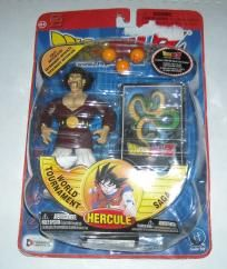 2002 Dragonball Z Hercule Figure Sealed FREE SHIPPING