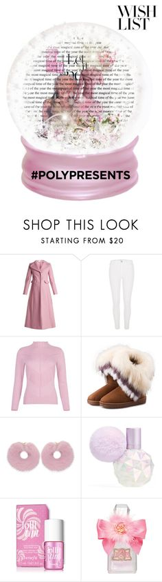 """""""#PolyPresents: Wish List"""" by princhelle-mack ❤ liked on Polyvore featuring Valentino, River Island, WithChic, Wild & Woolly, Benefit, Juicy Couture, contestentry and polyPresents"""