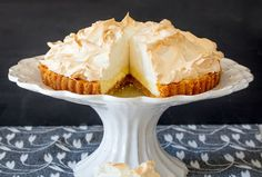 Being a serious sweet tooth, I love classic lemon meringue pie. I've tasted many versions of it, and after many baking attempts at home I've now perfected the recipe for the way I like my lemon meringue. It should be tangy enough to get your tongue in a twist, but just sweet enough to make you go back for more.