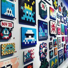 #spaceinvader #invader #museeenherbe #paris @museeenherbe #streetart #streetartparis #urbanart #pacman #artgallery #gale...