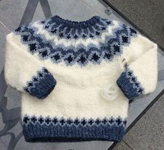 Diy Crafts - Same, Same, But Different! Fair Isle Knitting Patterns, Sweater Knitting Patterns, Easy Knitting, Knitting For Kids, Knitting Designs, Knit Patterns, Knitting Projects, Toddler Sweater, Knit Baby Sweaters
