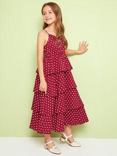 Frocks For Girls, Kids Outfits Girls, Cute Girl Outfits, Little Girl Dresses, Girls Dresses, Girls Fashion Clothes, Little Girl Fashion, Jean Moda, Kids Dress Wear
