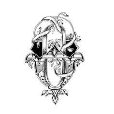 Love Letters - Hand Drawn Alphabet by Raul Alejandro , via Behance