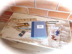 Miniature creative kit   scale 1:12 dollhouses by Graziemini