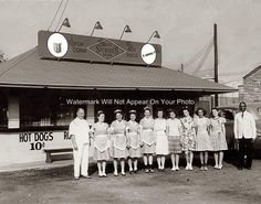 Old Hot Dog Stand Stewarts Root Beer West Virginia Drive in