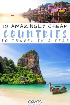 Here are the 10 amazingly cheap countries to travel this year! These are budget-friendly destinations that offer the best value for an unforgettable vacation. So, here are the cheapest countries to visit this year! | #traveldestinations #budgettravel #travelonabudget Travel Pics, Travel Advice, Travel Pictures, Travel Guides, Best Vacation Spots, Best Vacations, Vacation Trips, Cheap Travel, Budget Travel