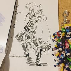 Rebecca Sugar's Concept Drawing of Steven Universe's Lars of the Stars
