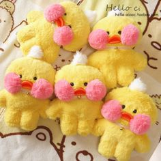 Custom version of cafemimi hyaluronic acid small yellow duck plush doll toy cute net red duck dolls - Taobao global station Plush Dolls, Doll Toys, Weird Birds, Duck Toy, Cute Chickens, Pink Cheeks, Kawaii Plush, Baby Ducks, Cute Toys