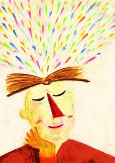 Reading changes the world / La lectura cambia el mundo (ilustración de Diego Paparelle)