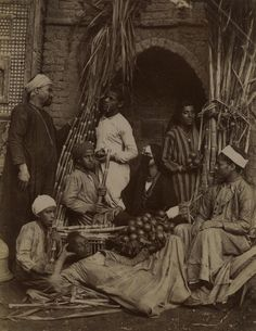 Sugar cane sellers in Egypt taken by Zangaki. Visit www.rumisgarden.co.uk to shop for our crafts. #Islam #Sufism #Spirituality #Mysticism #God #Religion #Africa
