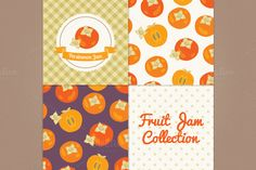 Persimmon jam by miumiu on Creative Market