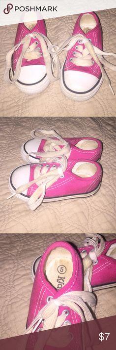 Infant girl kidgets size 5 Pink white kidgets for infant girls size 5 Kidgets Shoes Sneakers