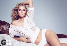 Toni Garrn Strips Down for Sexy GQ Shoot