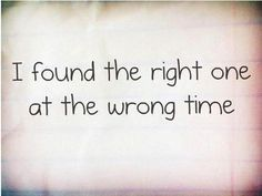 Story of my life. Had to just let them go and hope that we cross paths again when the time is right.