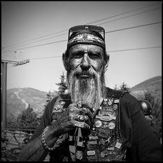 Paul 2007 ~   American Biker Project ~ Copyright © 2012 Brandon Allen.   Shot with a Hasselblad 500cm