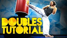Doubles(Double Kick) Tutorial Roundhouse Kick, Parkour, Taekwondo, Muay Thai, Karate, Yoga Fitness, Martial Arts, Kicks, Excercise