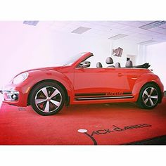Turn some heads this summer.. #beetle #turbo #convertible #vwbeetle #redvw #summercar #vwturbo @volkswagenmotorsport @vwclassics @vw @Volkswagen Canada @vw_france