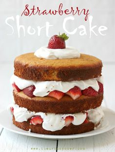 Dairy & Grain Free Strawberry Shortcake