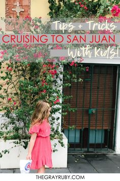 what to expect when visiting San Juan Puerto Rico with kids and what to do when you get off on port Bioluminescent Bay Puerto Rico, Travel With Kids, Family Travel, San Juan Cruise, El Yunque National Forest, Carnival Breeze, San Juan Puerto Rico, Fun Activities To Do, Beautiful Park