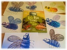 The Book Sniffer: The Big Blue Thing on the Hill - Creating a BUZZZZZZ. Yuval Zommer