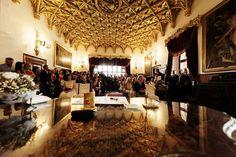 Sobáš v Zlatej sále /  foto: Pandorasbox #bojnicecastle #bojnice #museum #muzeum #slovensko #slovakia #history #castle #wedding #love #romantic #svadba #svadbanazamku