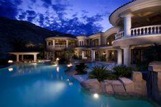 las vegas mansion | Las Vegas Mansion | Favorite Places & Spaces