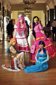grand galloping gala cosplay. rainbow dash's is 20% cooler than the rest of them