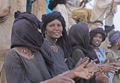 Africa | Tuareg nomads. Niger | ©Ziva Santop