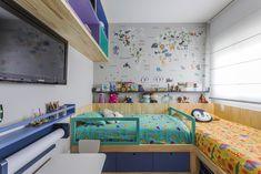 Home Design Decor, Small House Interior Design, Home Decor, Kids Bed Design, Kids Bedroom Designs, Kids Bedroom Furniture, Bedroom Decor, Design Hall, Shared Bedrooms