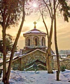 church in kalemegdan