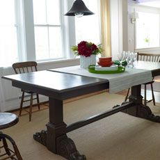 How To Make A Trestle Table