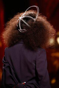 Wireframe cap | SCHIAPARELLI, Spring 2015 Couture