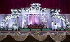 Wedding Hall Decorations, Marriage Decoration, Engagement Decorations, Backdrop Decorations, Flowers Decoration, Backdrops, Indian Wedding Stage, Indian Wedding Receptions, Wedding Stage Design