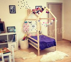 girl room ideas wood bed bed house house bed children bed