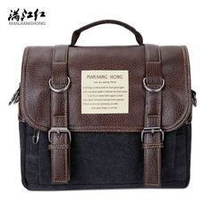 Multifunctional Man Bag Quality Guaranteed Brand Bag Canvas Shoulder Bag Change to Small Back Pack by Moving Shoulder Strap 1280