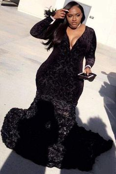 plus size prom dresses Key Features:Image Type:Reference ImagesSilhouette:Trumpet/MermaidNeckline:V- Plus Prom Dresses, Black Girl Prom Dresses, Affordable Prom Dresses, Prom Dresses Long With Sleeves, Mermaid Prom Dresses, Plus Size Dresses, Peplum Dresses, Dress Sleeves, Summer Dresses