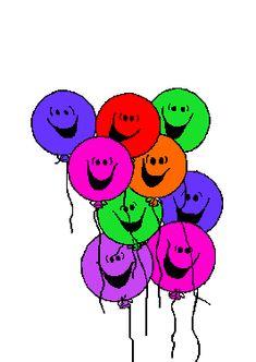 Happy Birthday Balloons Animation Balloon Bubble Bubbles E Greetings