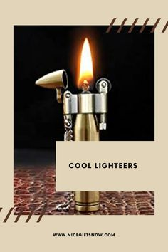 Bullets have long been used as powerful amulets that offer protection to their wearer. Today, bullet designs are favored because they are fashionably attractive and impressive. If you like adorning your necks with a bullet, then you might as well match it with a vintage bullet lighter. And why not give these cool lighters as a gift to your friend? Fun Gifts, Creative Gifts, Best Gifts, Bullet Designs, Cool Lighters, Gold Dragon, Gifts For Your Girlfriend, Dragon Design, In Case Of Emergency