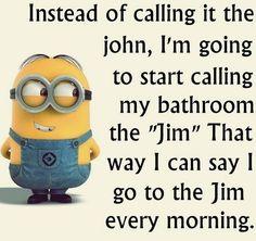 Ideas For Funny Jokes Minions Humor Funny Minion Pictures, Funny Minion Memes, Minions Quotes, Funny Relatable Memes, Funny Texts, Funny Jokes, Hilarious Pictures, Minion Humor, Minion Sayings