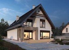 Architectural House Plans, Dream House Exterior, Design Case, Home Fashion, Home Projects, Sweet Home, Villa, New Homes, How To Plan