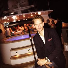 Pr Executive, Thomas Piecre, Attends The Basel Boat House in Miami December 2nd
