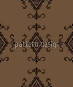 Gothic Brown by Martina Stadler available for download as a vector file on patterndesigns.com Vector Pattern, Vector File, Surface Design, Medieval, Gothic, Patterns, Brown, Inspiration, Block Prints