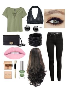 """""""Cute"""" by mlwood2 on Polyvore featuring Free People, Jimmy Choo, Saachi and Bobbi Brown Cosmetics"""