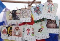 Inspiring Illustrated 2012 Calendars - Illustration Pages | Illustration, Graphic Design and Art Inspiration Blog