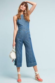 Shop the Pilcro Femme Denim Jumpsuit and more Anthropologie at Anthropologie today. Read customer reviews, discover product details and more.