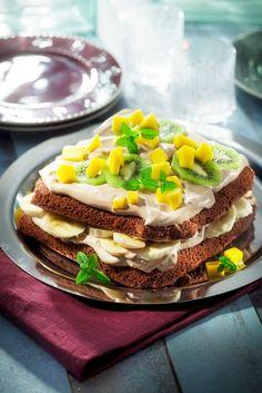 Mango-suklaakermakakku | K-ruoka